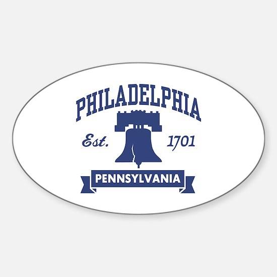 Philadelphia PA Oval Decal