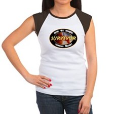 Roe vs. Wade Survivor Women's Cap Sleeve T-Shirt