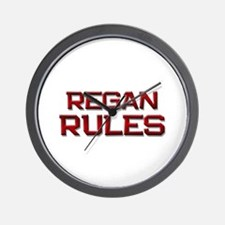 regan rules Wall Clock
