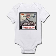 """Dependable Champion Plugs"" Infant Bodysuit"