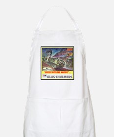 """""""M-4 Military Tractor"""" BBQ Apron"""