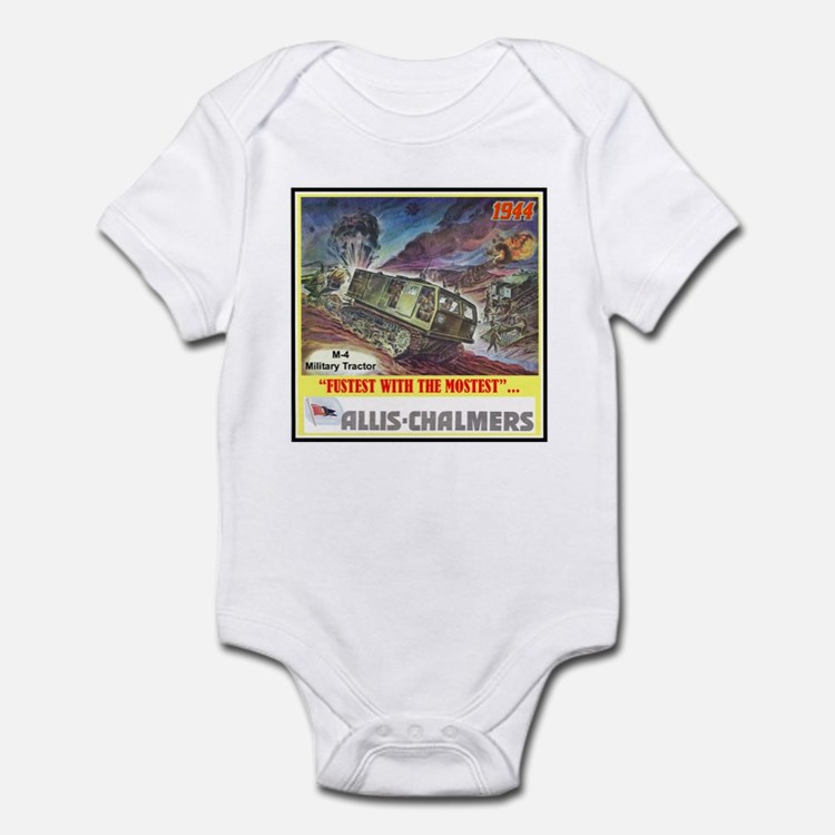 """M-4 Military Tractor"" Infant Bodysuit"