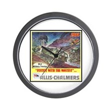 """""""M-4 Military Tractor"""" Wall Clock"""