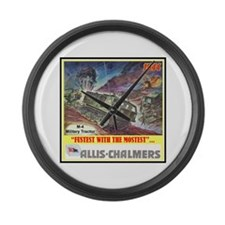 """M-4 Military Tractor"" Large Wall Clock"