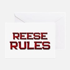 reese rules Greeting Card