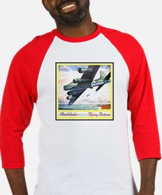 """Flying Fortress Engines Ad"" Baseball Jersey"