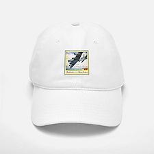 """""""Flying Fortress Engines Ad"""" Baseball Baseball Cap"""