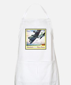 """Flying Fortress Engines Ad"" BBQ Apron"