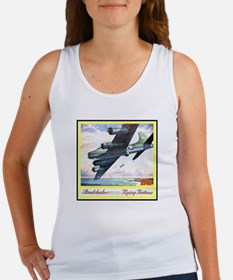 """Flying Fortress Engines Ad"" Women's Tank Top"
