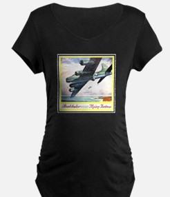 """""""Flying Fortress Engines Ad"""" T-Shirt"""