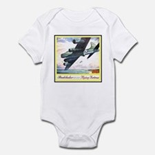 """Flying Fortress Engines Ad"" Infant Bodysuit"