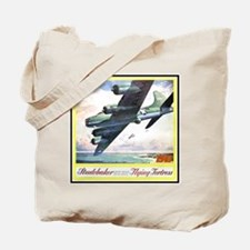 """Flying Fortress Engines Ad"" Tote Bag"