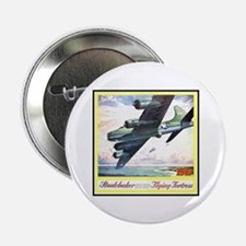 """""""Flying Fortress Engines Ad"""" 2.25"""" Button"""