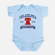 Philadelphia PA Infant Bodysuit