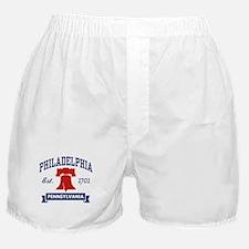 Philadelphia PA Boxer Shorts