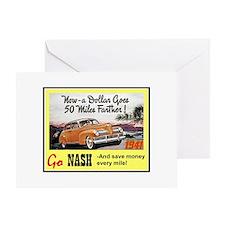 """""""1941 Nash Ad"""" Greeting Card"""