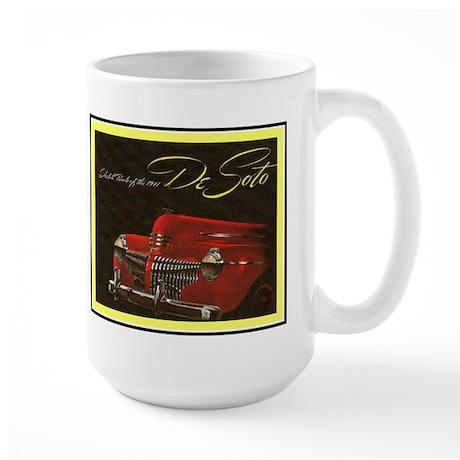 """1941 DeSoto"" Large Mug"