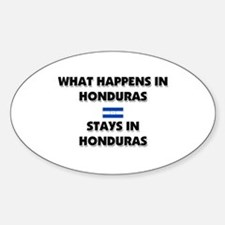 What Happens In HONDURAS Stays There Decal