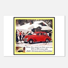 """1940 Studebaker Ad"" Postcards (Package of 8)"