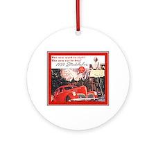 """1939 Studebaker Ad"" Ornament (Round)"