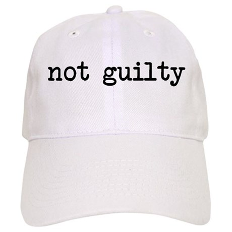 not guilty Cap