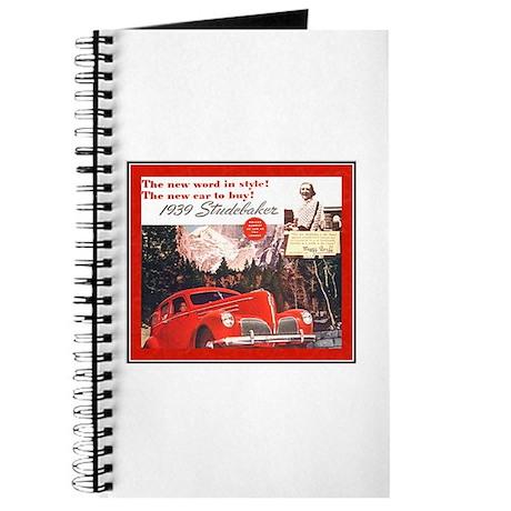 """""""1939 Studebaker Ad"""" Journal"""
