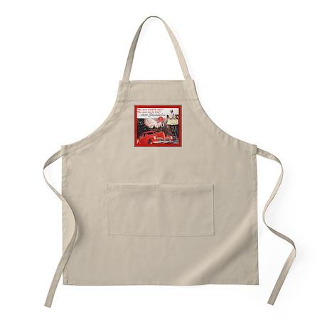 """1939 Studebaker Ad"" BBQ Apron"
