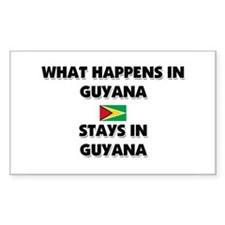 What Happens In GUYANA Stays There Decal