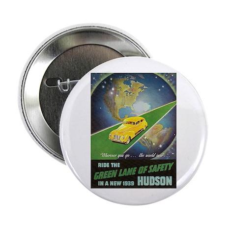 """""""1939 Hudson Ad"""" 2.25"""" Button"""
