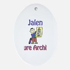 Jalen - Future Architect Oval Ornament