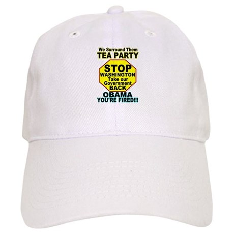 Tea Party Obama Fired Cap