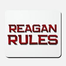 reagan rules Mousepad
