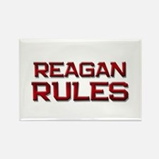 reagan rules Rectangle Magnet