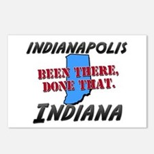 indianapolis indiana - been there, done that Postc