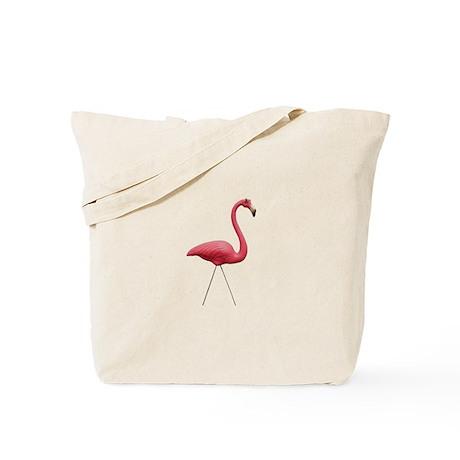 Retro Pink Flamingo Tote Bag (no mark-up)