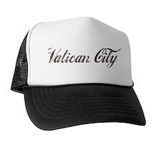 Vintage Vatican City Trucker Hat