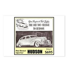 """""""1938 Hudson Ad"""" Postcards (Package of 8)"""