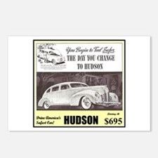 """1938 Hudson Ad"" Postcards (Package of 8)"