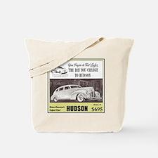 """""""1938 Hudson Ad"""" Tote Bag"""