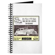 """""""1938 Hudson Ad"""" Journal"""