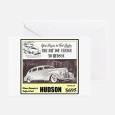 """1938 Hudson Ad"" Greeting Card"