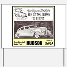"""1938 Hudson Ad"" Yard Sign"