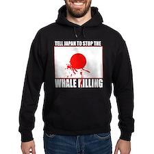 Japan Stop Whale Killing Hoodie