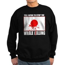 Japan Stop Whale Killing Jumper Sweater