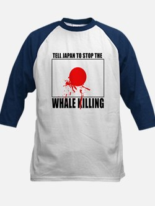 Japan Stop Whale Killing Tee