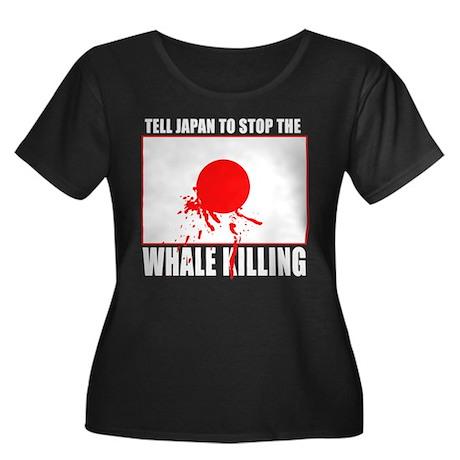 Japan Stop Whale Killing Women's Plus Size Scoop N