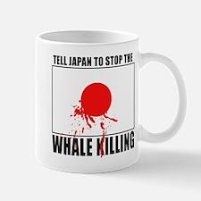 Japan Stop Whale Killing Mug