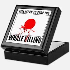 Japan Stop Whale Killing Keepsake Box
