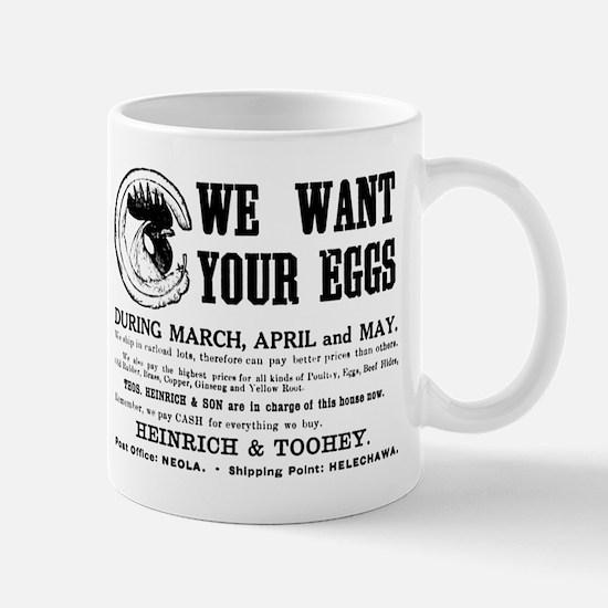 04/29/1909: Eggs Mug
