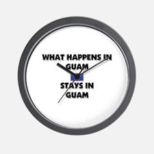 What Happens In GUAM Stays There Wall Clock